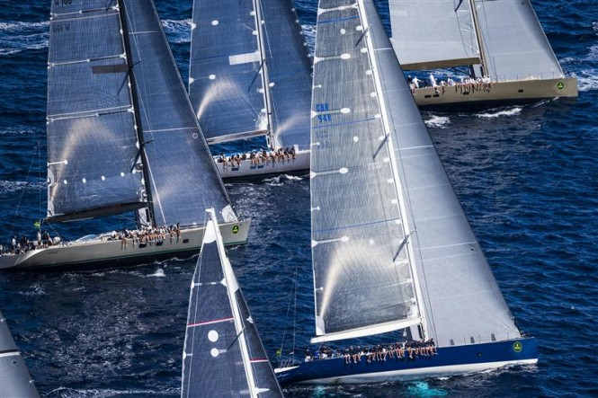 Start of the Wally Class - Photo by Rolex Carlo Borlenghi