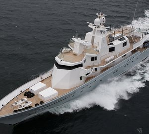 Luxury yacht Ronin left Lurssen after an extensive refit