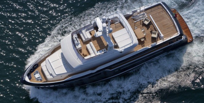 Superyacht Stella di Mare - upview