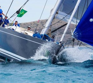 Swan yachts to compete for the Swan Maxi Trophy at Maxi Yacht Rolex Cup 2013