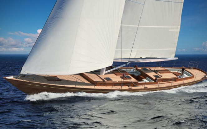 Tempus Fugit Yacht by Arkin Pruva and Rob Humphreys