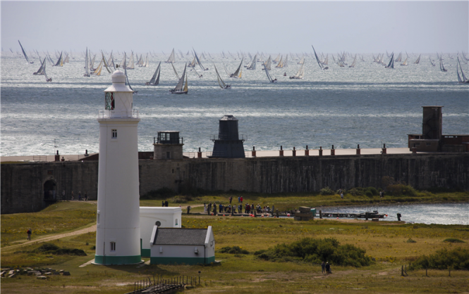 The Rolex Fastnet Race Fleet at the Solent