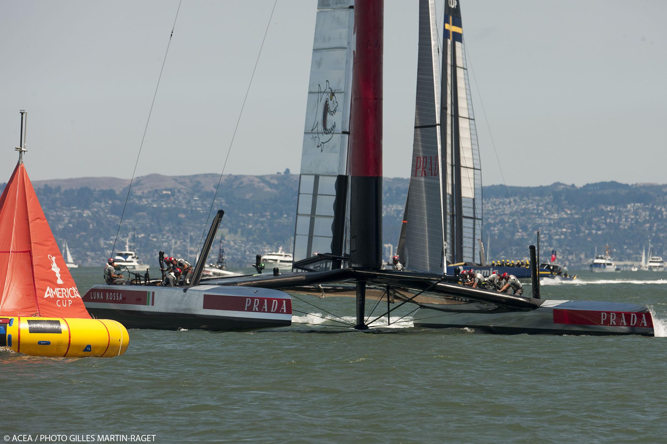 Louis Vuitton Cup - Semi-finals - Luna Rossa vs Artemis Racing - Race