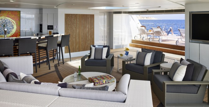 Galactica Star superyacht - Interior