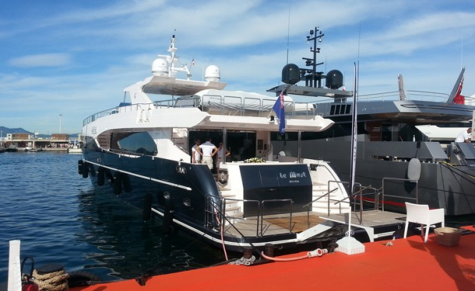 Gulf Craft S Majesty 105 Luxury Yacht Le Must At Cannes