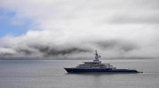 115m luxury expedition yacht LUNA - Photo credit to Michael R. McGee