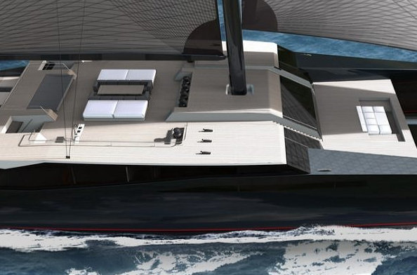165 Ultimate sailing superyacht concept by Sunreef Yachts