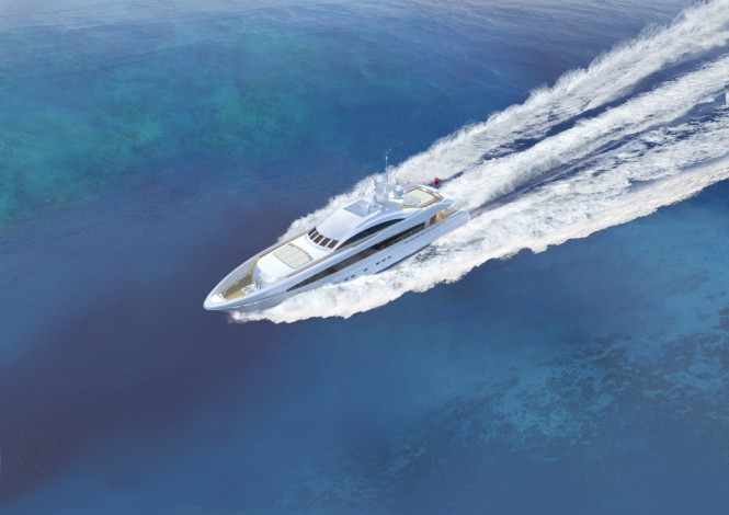40m superyacht Project Galatea (YN 15640) by Heesen - Image credit to Heesen Yachts - Omega Architects