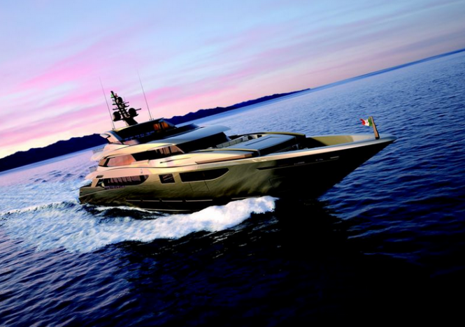 60m mega yacht Project M60 sold by Mondo Marine