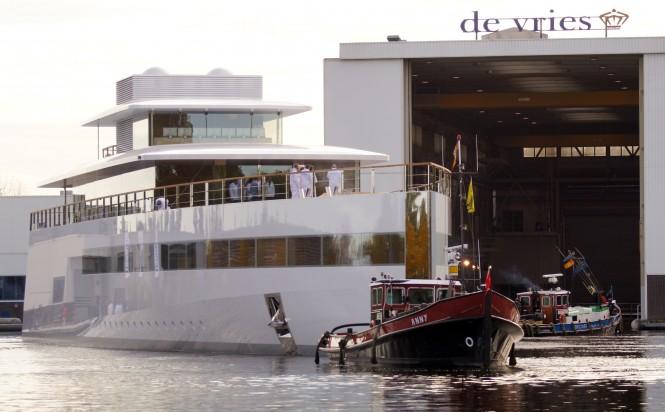 78m mega yacht VENUS