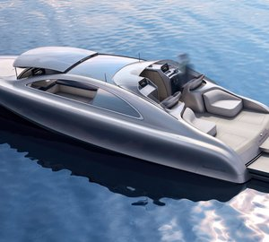 Final design and specification of ARROW460-Granturismo Yacht Concept unveiled at MYS