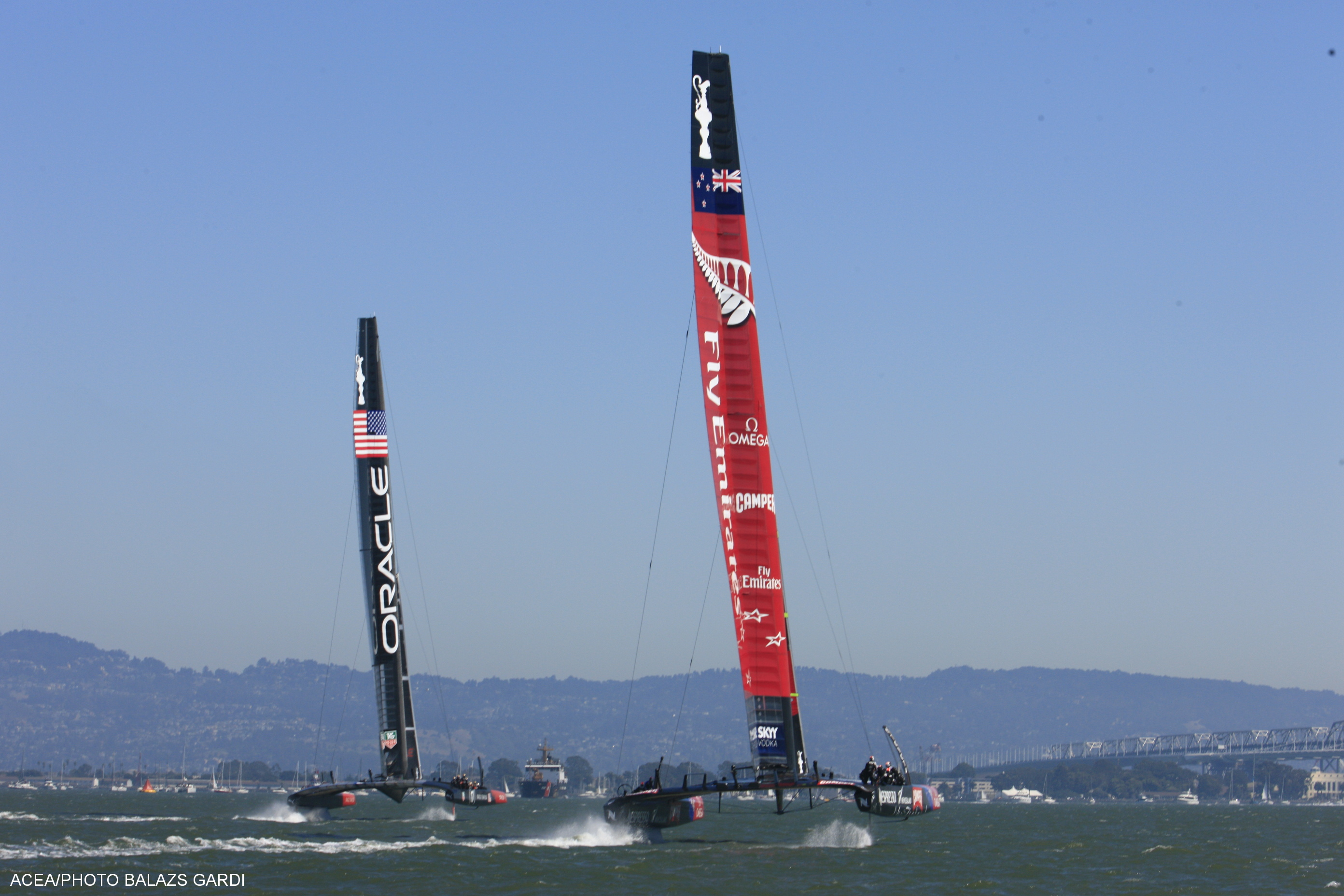 Team New Zealand wins 1st race on Day 2 of America's Cup Finals