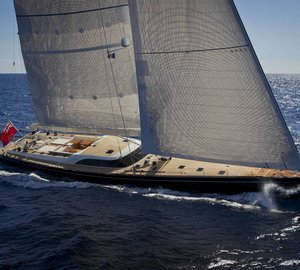 Nauta and Reichel Pugh-designed Baltic 112' Yacht NILAYA wins Maxi Yacht Rolex Cup 2013 in the SuperMaxi category