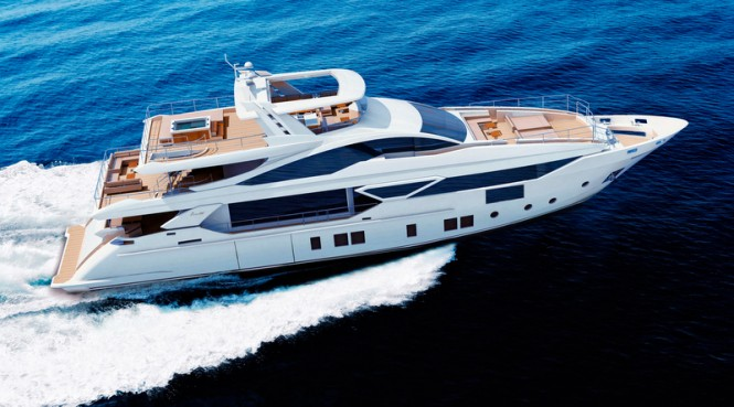 Benetti F-125' Yacht making her debut at Cannes Boat Show