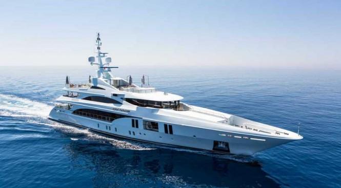 Benetti mega yacht Ocean Paradise (FB263)