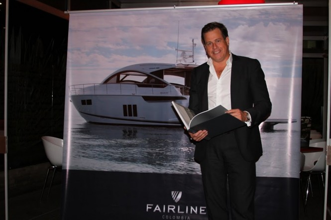 Carlos Tramontini - Dealer Principal of Fairline Colombia