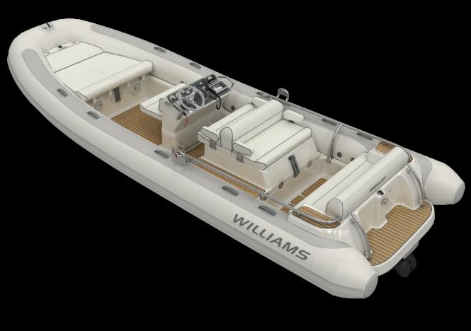 Dieseljet 625 superyacht tender by Williams Performance Tenders to be displayed at MYS