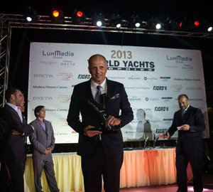 Entrepreneur of the Year Award for Sunreef Yachts President at World Yacht Trophies 2013