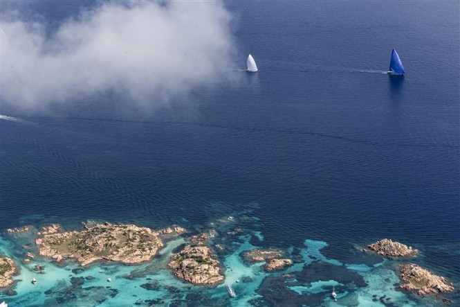 Great sailing in the emerald waters of the Costa Smeralda