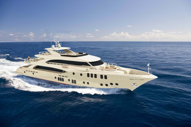 Gulf Craft superyacht Majesty 155 - Profile