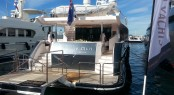Gulf Craft's Majesty 105 superyacht Le Must on display at the 2013 Cannes International Boat Show