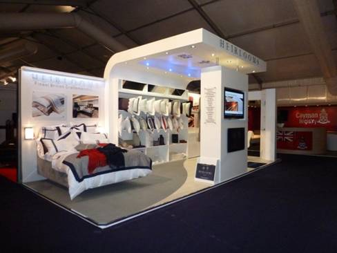 Heirlooms Stand at the Monaco Yacht Show 2012