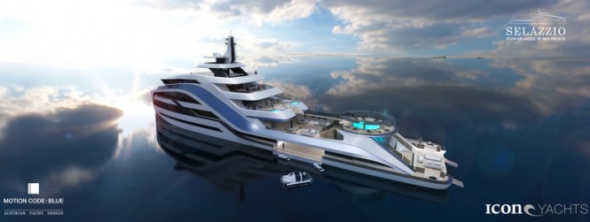 ICON superyacht SELAZZIO 95 SEA PALACE concept