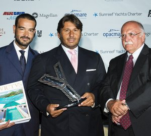 World Yacht Trophy 2013 for 60m CRN mega yacht J'ADE