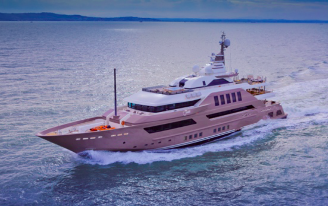 Luxury motor yacht JAde by CRN