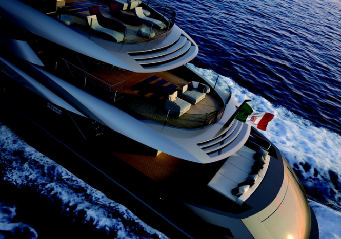 Luxury motor yacht M60
