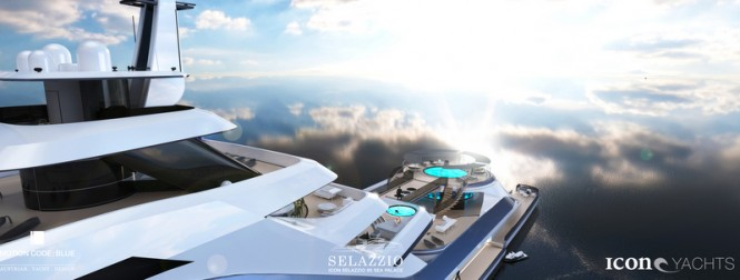 Luxury motor yacht SELAZZIO 95 SEA PALACE concept