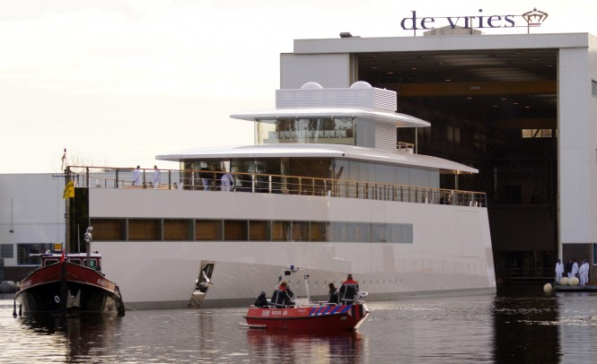 Videos And Photos Of The 78m Feadship Mega Yacht Venus