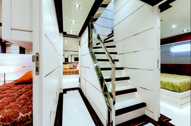 Luxury superyacht Nameless - Stairway