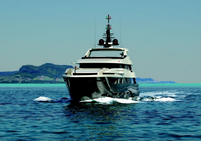 Luxury yacht M50 S project by Mondo Marine