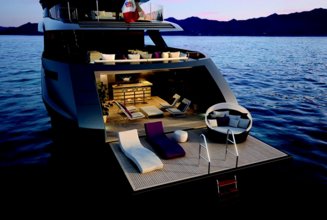 Luxury yacht M60