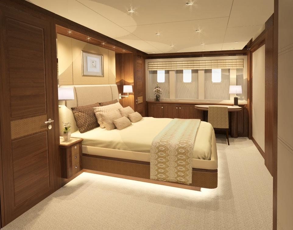 Luxury Yacht Mulder 94 Voyager Master Cabin Yacht Charter Superyacht News
