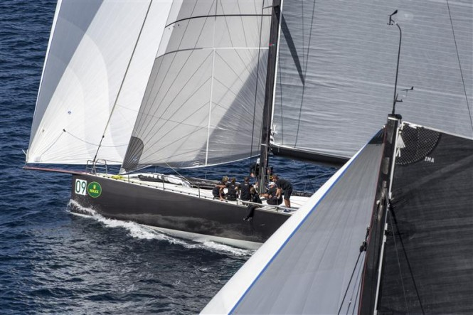 Luxury yacht Ran 2 - Winner of the fourth day of racing