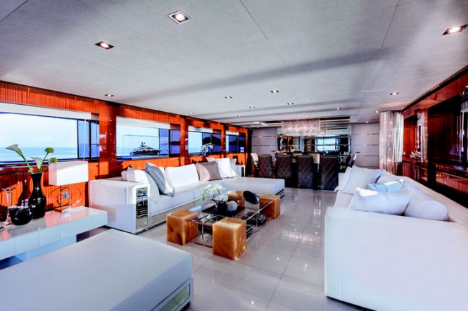 Main salon - Luxury motor yacht NAMELESS