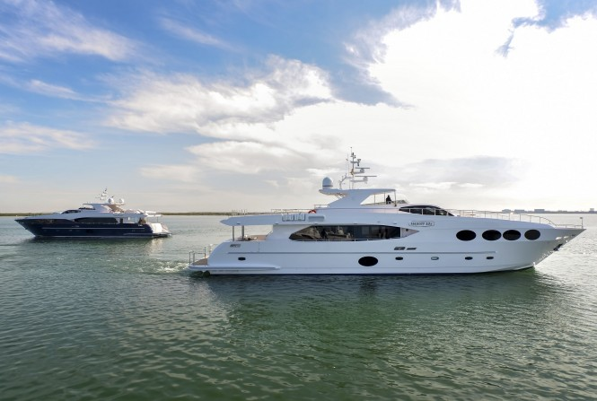 Majesty 105 motoryachts