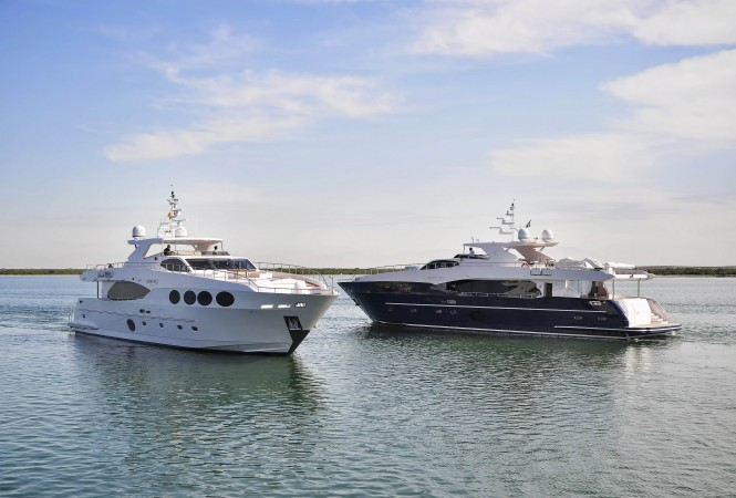Majesty 105 superyachts
