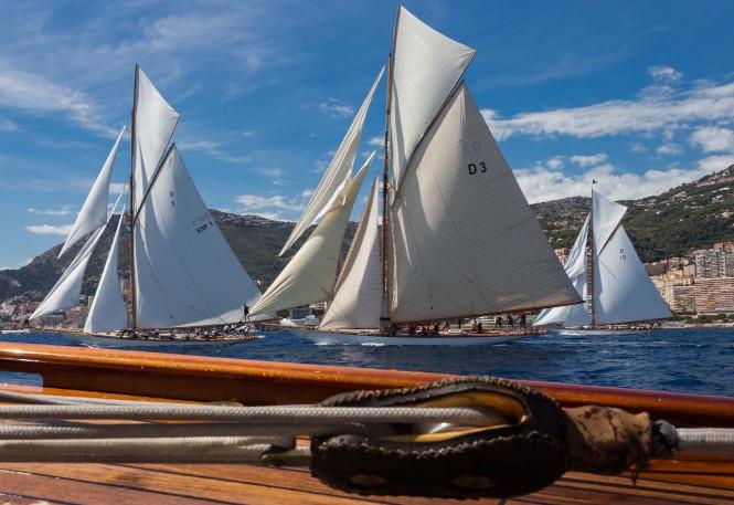 Monaco Classic Week 2013 from aboard Mariska Yacht
