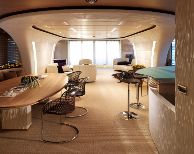 Art Line Yacht Interior Design : Motor yacht sofia interior photo by dick holthuis
