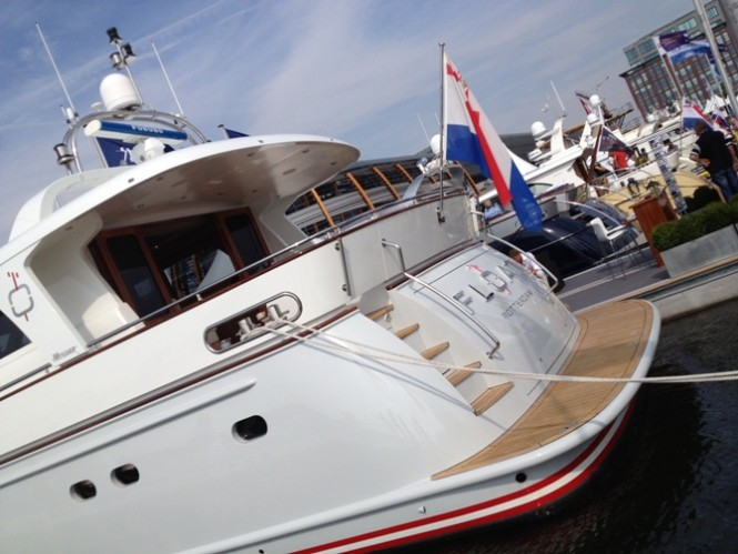 Mulder Shipyard at the 2013 HISWA Amsterdam Boat Show