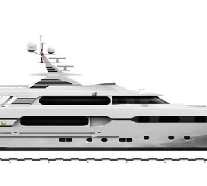 45m Sunrise motor yacht SUNSET with interior design by Franck Darnet sold
