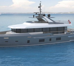 Kingship working on new motor yacht DISCOVERY 88 project