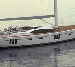 New Oyster sailing yacht Oyster 745 with launch in late 2015