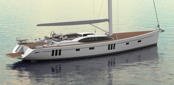 New sailing yacht Oyster 745 by Oyster Yachts