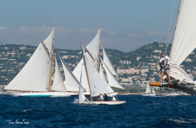Photo by James Robinson Taylor - Classics fleet fighting for clean air