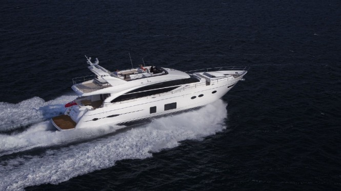 Princess 82 superyacht