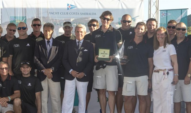 Ran 2 Yacht crew members - Winners of the Mini Maxi Rolex World Championship